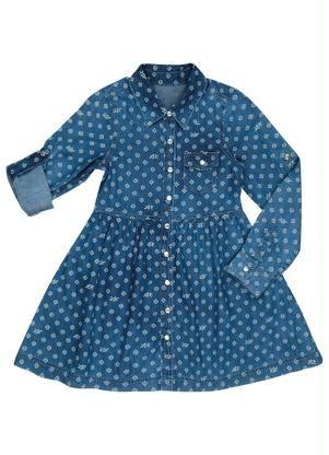 Vestido Jeans Lilica Ripilica (Azul)