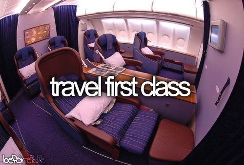 I have always wanted to go first class but its so expensive. Once got upgraded to business and it was amazing