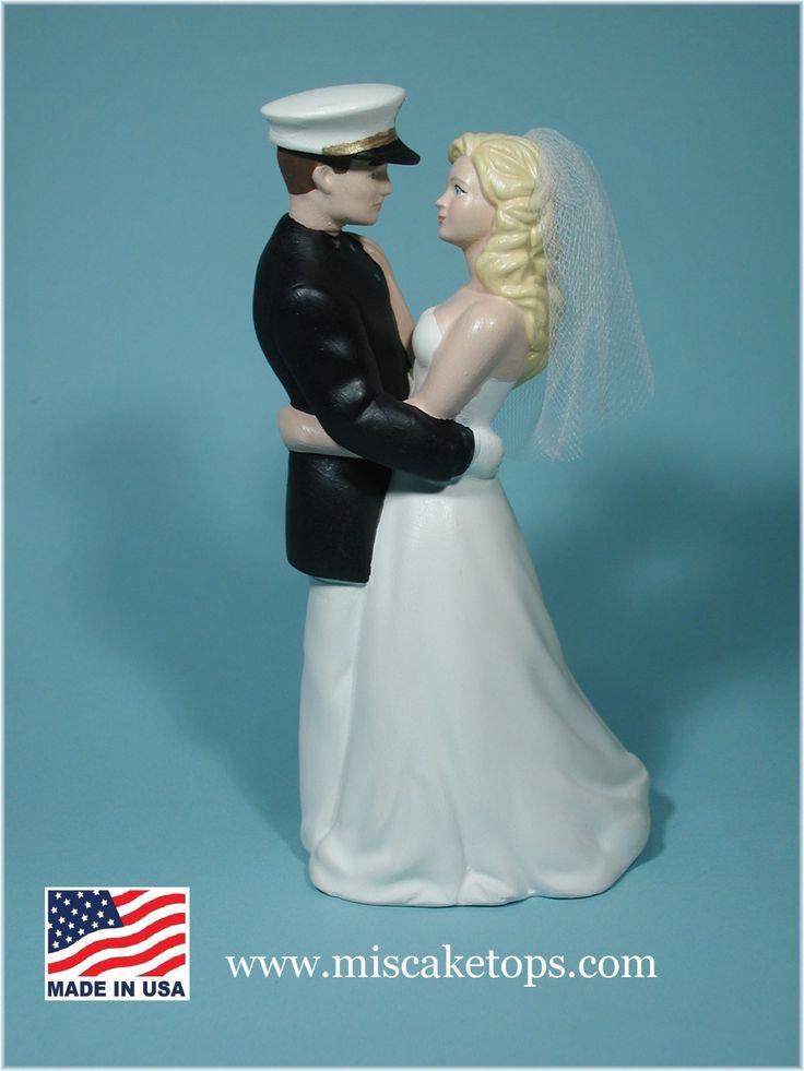 US Navy cake topper