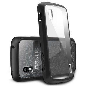 Wedding gift:[Black] Google Nexus 4 Ringke [Fusion] The Best Selling Premium Hybrid Hard Case [Eco Package]