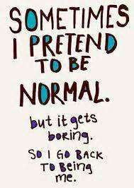 somtimes it's better to be yourself :)