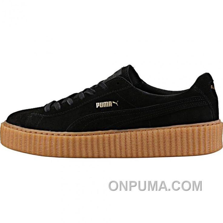 http://www.onpuma.com/puma-by-rihanna-creeper-mens-black-gum-cheap-to-buy.html PUMA BY RIHANNA CREEPER (MENS) - BLACK/GUM FREE SHIPPING Only $88.00 , Free Shipping!