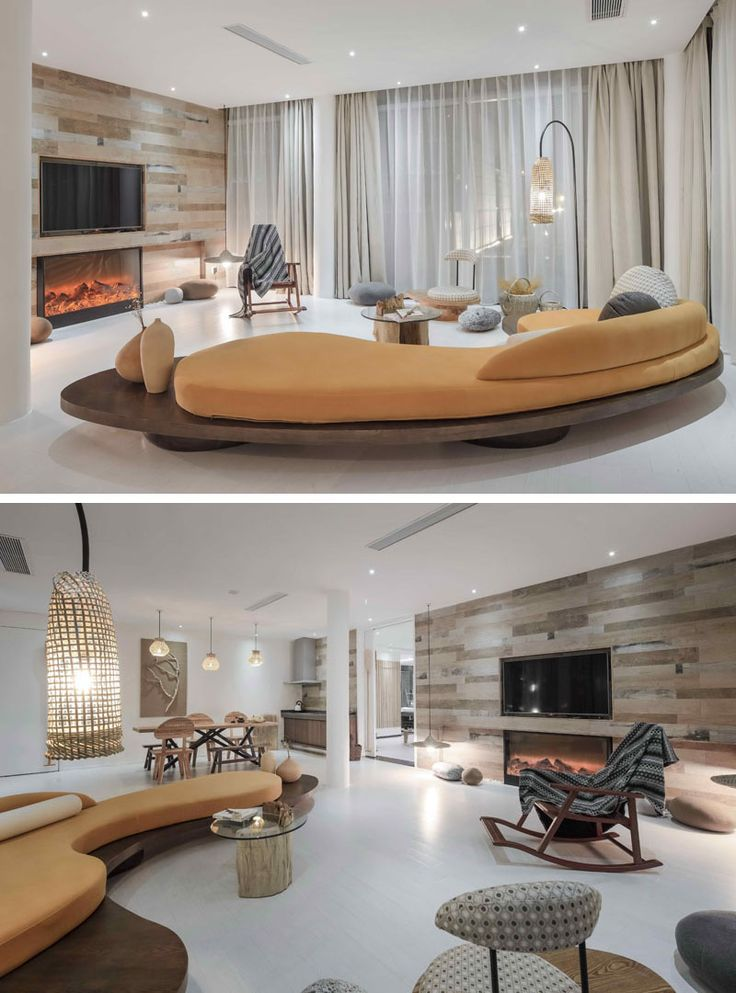 23 Pictures Inside The Ripple Hotel At Qiandao Lake In China This Suite Has A Custom Designed Sofa Its Own Living Room
