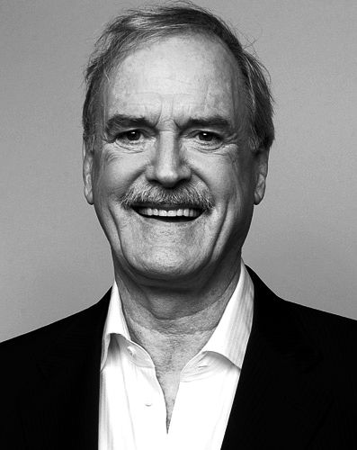 John cleese he was very tall and handsome a cast member has a tall