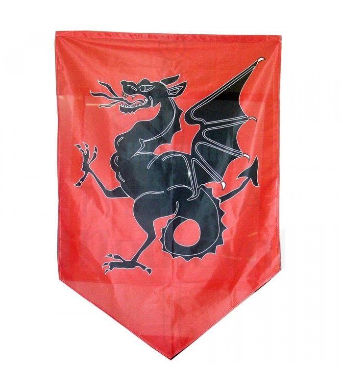 Begona T Estandarte Medieval Dragon 150x100 Cms General Feedback Despues De Realizar El Pedido Me Llego Un Mensaje Dragones Medieval Estandartes