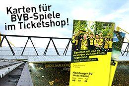 Der Ticketshop von Borussia Dortmund