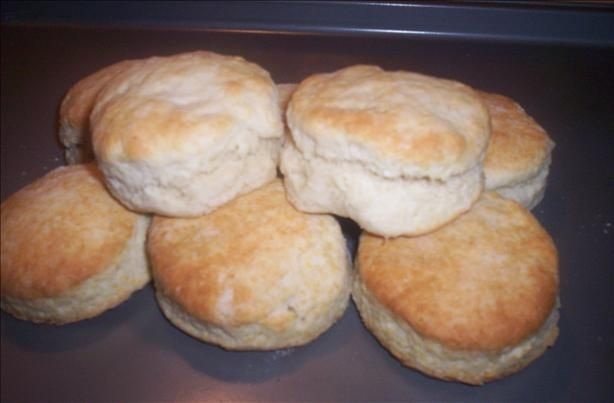 KFC and Kentucky Fried Chicken Biscuits (I just made these guys today. They turned out so yummy and fluffy! Don't think I will ever buy canned biscuits again. - Ashley Turman)