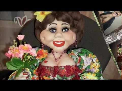 "Кукла из колготок ""Домовиха"" - YouTube"
