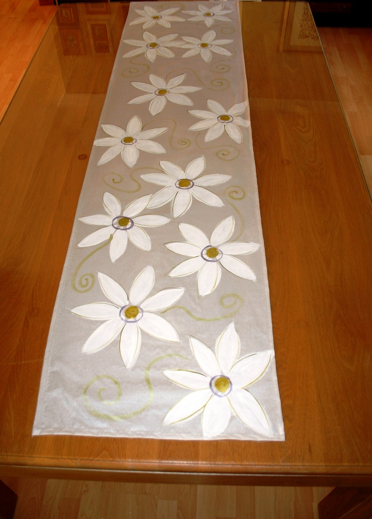 table runners craft projects cloths hand painted forward table runners ...