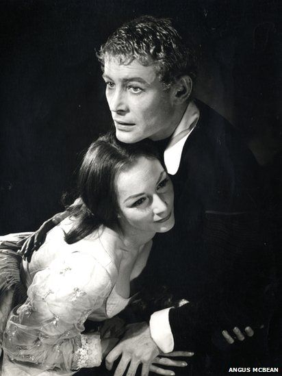 National Theatre celebrates 50 years. Rosemary Harris and Peter O'Toole in Hamlet