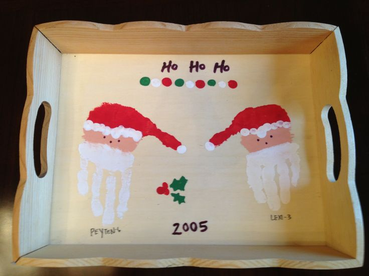 10 ideas for handprint Christmas crafts