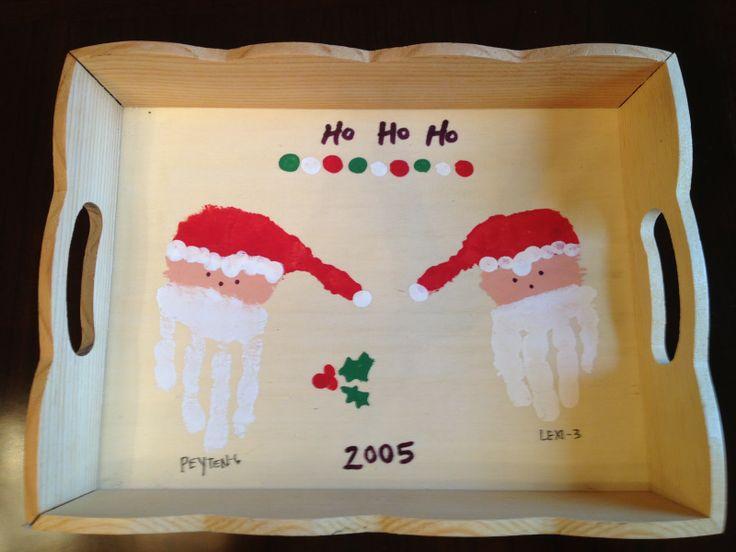 10 ideas for handprint Christmas crafts