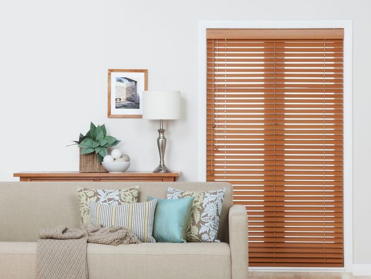 Firenze Light Cedar Wooden Blinds - Venetian blinds are so good for privacy and light filtering in the summer months.