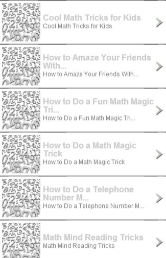 Worksheets Mind-readingnumbertrick — Mathfunfacts the 25 best ideas about math magic tricks on pinterest hand tricksin this app you can see topic
