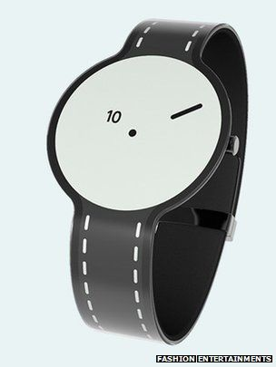 Sony has developed a watch made from e-paper as part of an initiative to experiment with the use of the material for fashion products.  E-paper watch