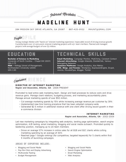70 best Resumes images on Pinterest Resume, Curriculum and - combination resume templates
