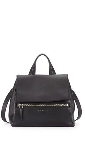 b4058de140 Givenchy Pandora Pure Small Satchel Black Leather Backpack in 2019 ...