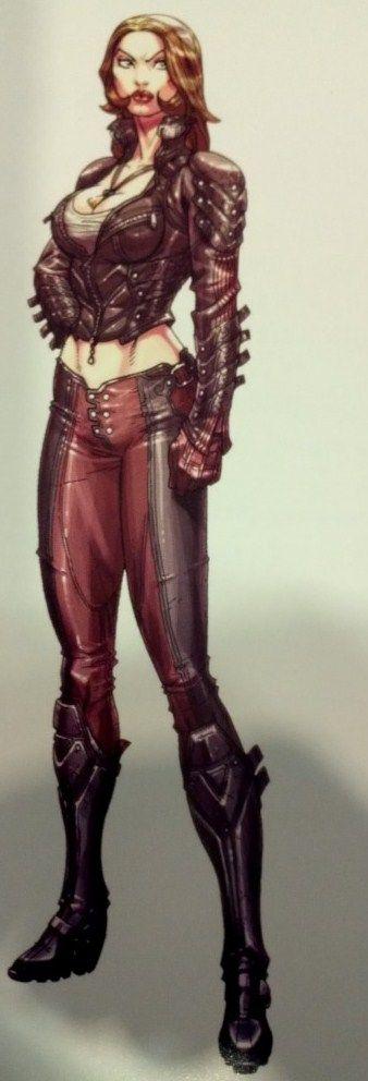 Talia Al Ghul Totally looks like me