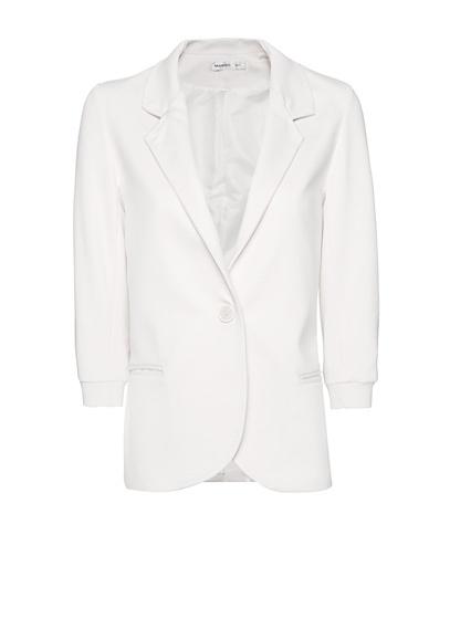 MANGO - Single button closure blazer
