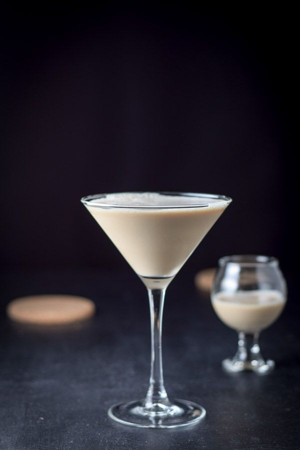 This delish and delightful cocktail stars @Godiva chocolate liqueur, @Smirnoff caramel vodka, and @RumChata. It's the perfect liquid dessert for the holidays. But savor the flavor slowly! It's potent. http://ddel.co/chockmartini