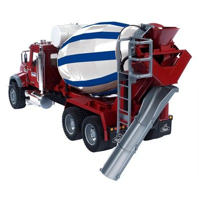 Mack Granite Cement Mixer Truck, Blue