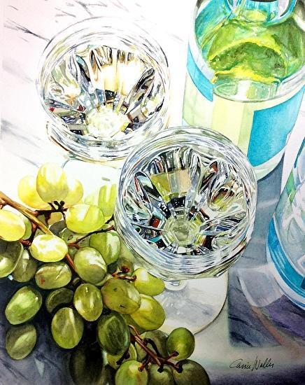 """Carrie Waller - Work Zoom: Summer Kaleidoscope 11"""" x 14"""""""