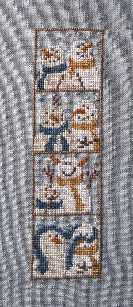 bent creek: photobooth snowmen