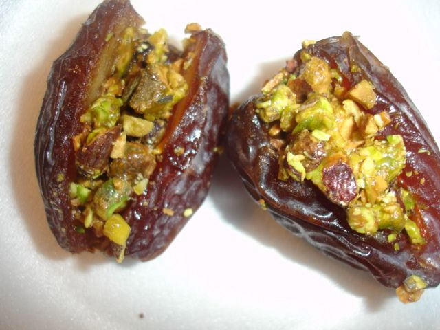 Honey and Pistachio Stuffed Dates                                                                                                                                                     More