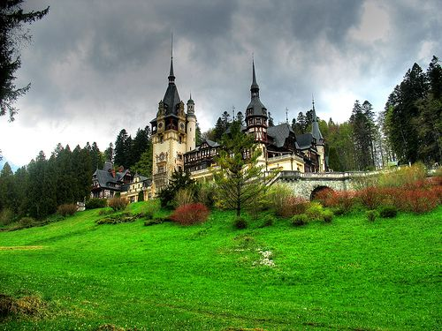 Peleş Castle  in Sinaia, Romania