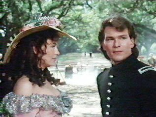Patrick Swayze and Leslie Anne Down North and South by scarlett283, via Flickr