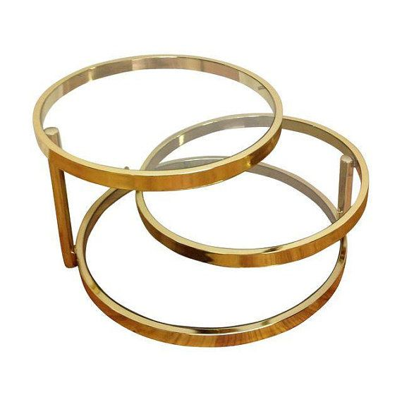 A Modernist Brass And Glass Coffee Table By The Design Institute Of  America. The Design Is Attributed To Milo Baughman. This Table Feat.
