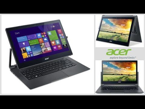 New Acer Aspire R 13 R7-371T-57SN 13.3-Inch Full HD Convertible 2 in 1 T...