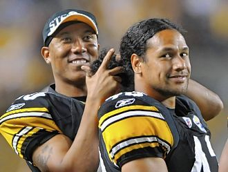 Hines Ward & Troy Polamalu