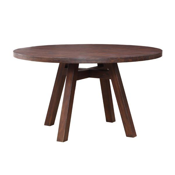 Damiani Dining Table Round Wood Dining Table Dining Table In