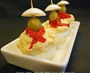 Encuentra las mejores recetas de huevos rellenos de atun o huevos san fermin de entre miles de recetas de cocina, escogidas de entre los mejores Blogs de Cocina.