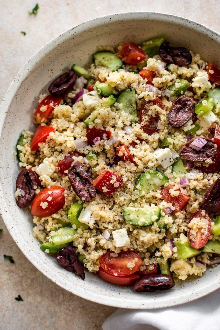 Greek Quinoa Salad Dressing Recipe