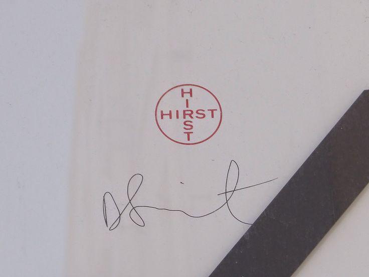 Resultado de imagen para damian hirst signature