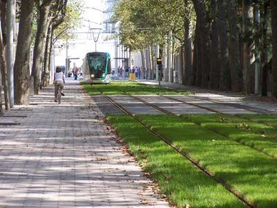 Light rail in Barcelona
