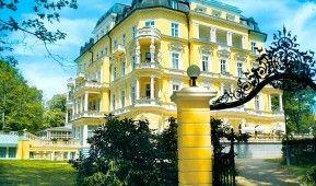Kurhotel Imperial in Franzensbad: Besuchen Sie eines der schönsten, luxuriösen Kurhotels inmitten des Kurparks, umspielt von einem Hauch der Geschichte. http://www.fitreisen.de/guenstig/tschechien/westboehmen/franzensbad/kurhotel-imperial/ #imperial #kurhotel #franzensbad #tschechien #kuren