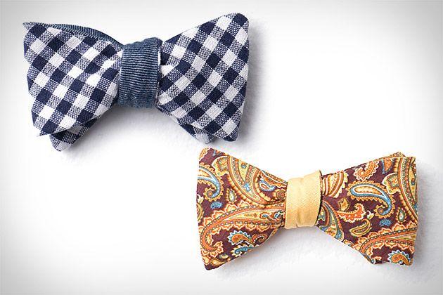Cotton Treats Reversible Bow Ties