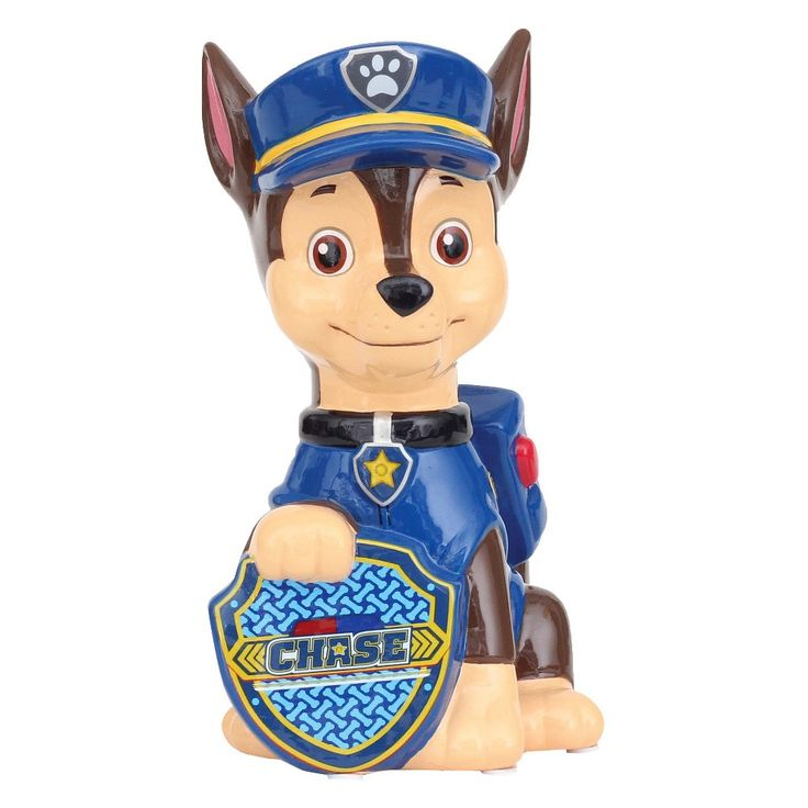 Paw Patrol Chase Bank - Blue, Blue/Brown