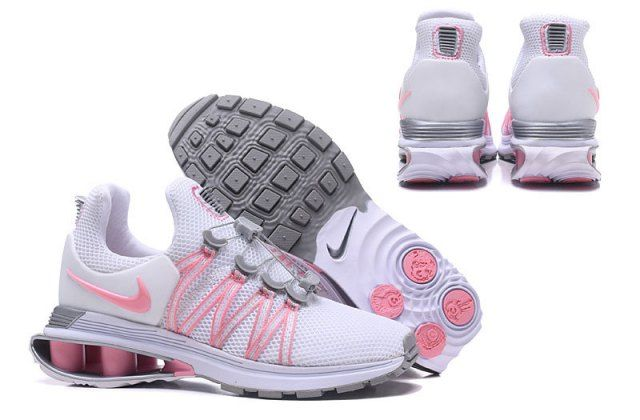 Nike Shox Gravity Pink White Grey Womens Footwear NIKE-NSZ002709 in ... 12cf18d3d