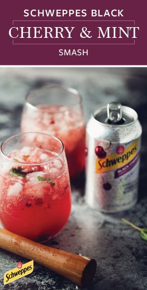 From the festive presentation to the refreshing flavor, everything about this Schweppes Black Cherry and Mint Smash cocktail is ideal for holiday entertaining! Grab Schweppes ​Black ​Cherry ​Sparkling ​Water from Walmart and get ready to host a wonderful seasonal celebration featuring this fun and easy bubbly beverage recipe. What more could you ask for this Christmas?!
