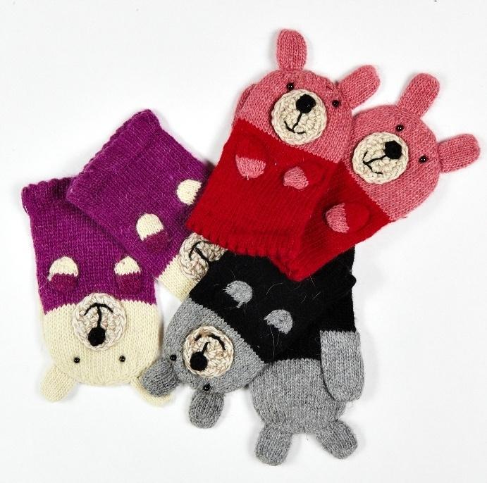 bear mittens!