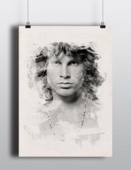 Watercolor Jim Morrison