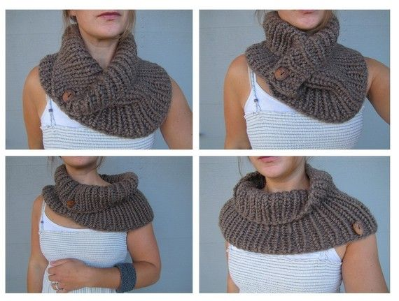 Pattern for the Bear Cove Cowl  knitting by thebeachcomberstudio, $4.50