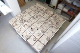 "Daniel Spoerri, ""Meissen Porzellan Puzzle"", 2015, MEISSEN COUTURE® Art Campus"