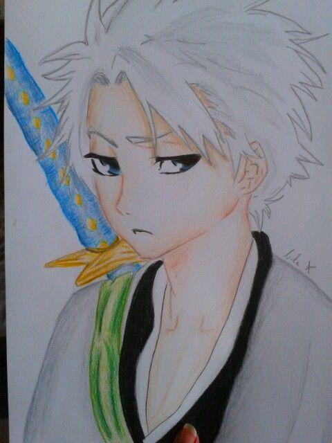 Toshiro Hitsugaya drawing :-)