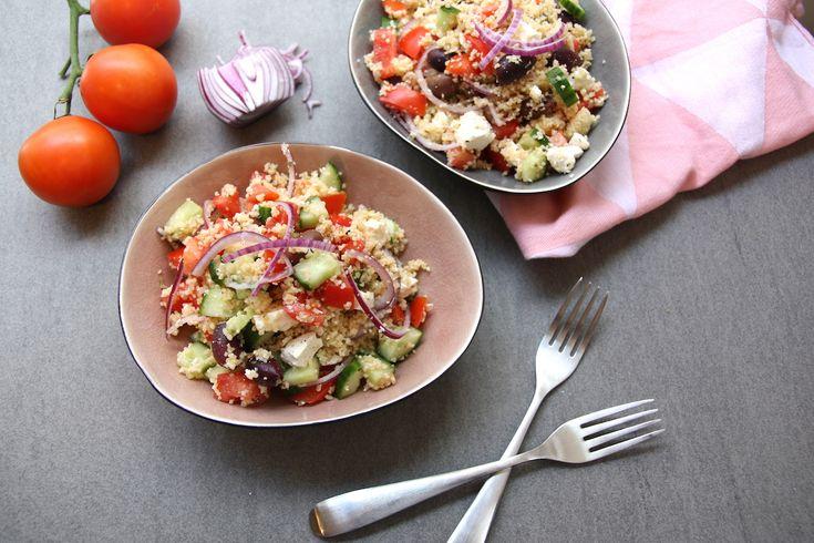 Griekse salade zal voor ever en altijd een van mijn favoriete zijn. Ik zou dit echt dagelijks kunnen eten. Wat een heerlijkheid! Hier een kleine variatie: Griekse couscous salade. RECEPT… Lees verder