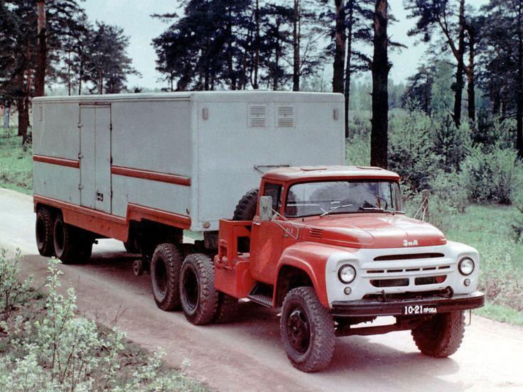 03 ЗиЛ-133В (Опытный) с полуприцепом ОдАЗ-861 (малосерийный выпуск 1966 год)